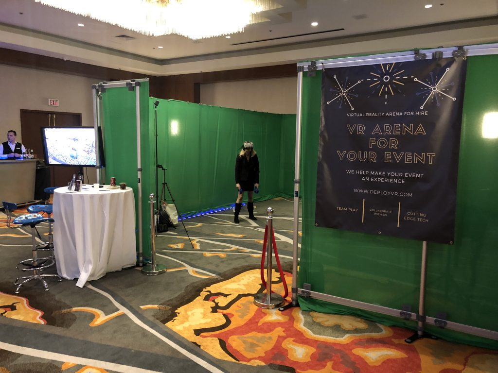 Virtual Reality Arena For Hire
