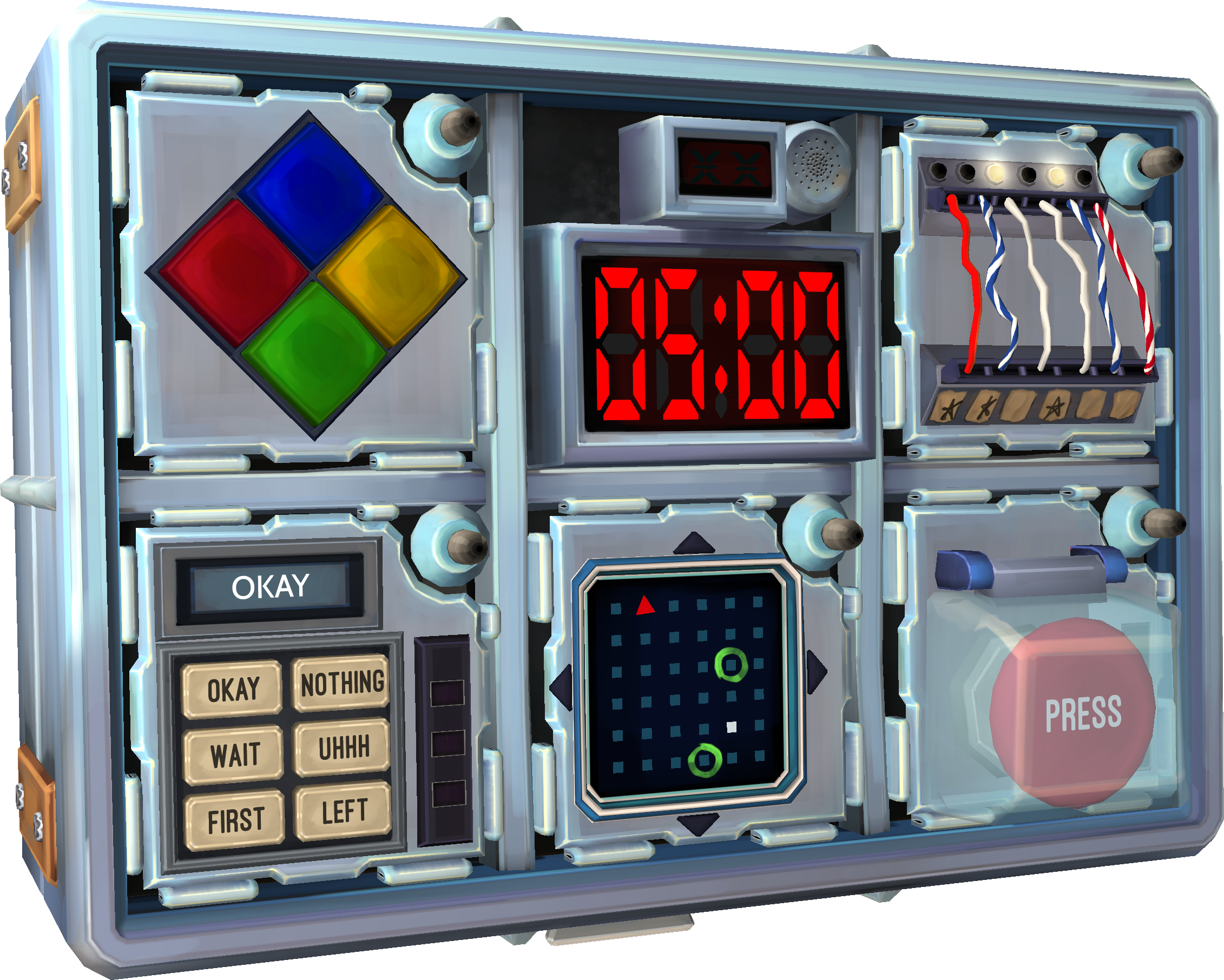 Transparent Bomb