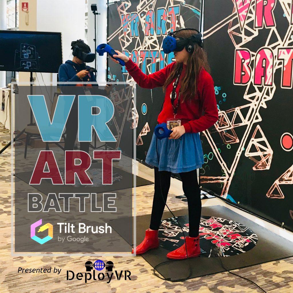 VR Art Battle at ARTWALK  Carlsbad
