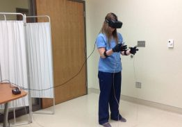 Virtual reality in nursing education